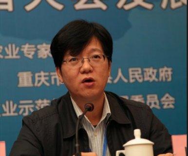 中国农学会副秘书长、农业部人力资源开发中心副主任向朝阳