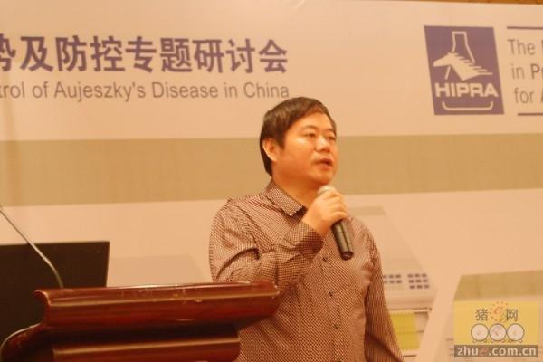 中牧集团副总裁薛廷伍先生