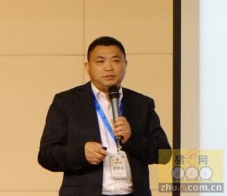 江西增鑫牧业科技董事长曾年根先生作报告