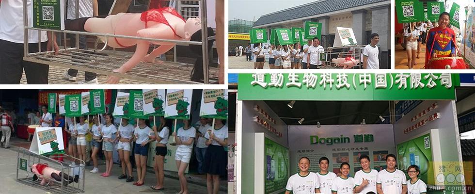 """道勤中国第37届养猪产业博览会(广州)""""裸模行为艺术"""""""