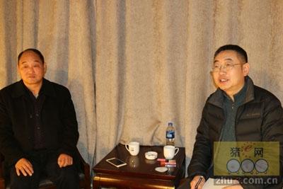 猪e网采访河南银发牧业有限公司董事长王丙艮