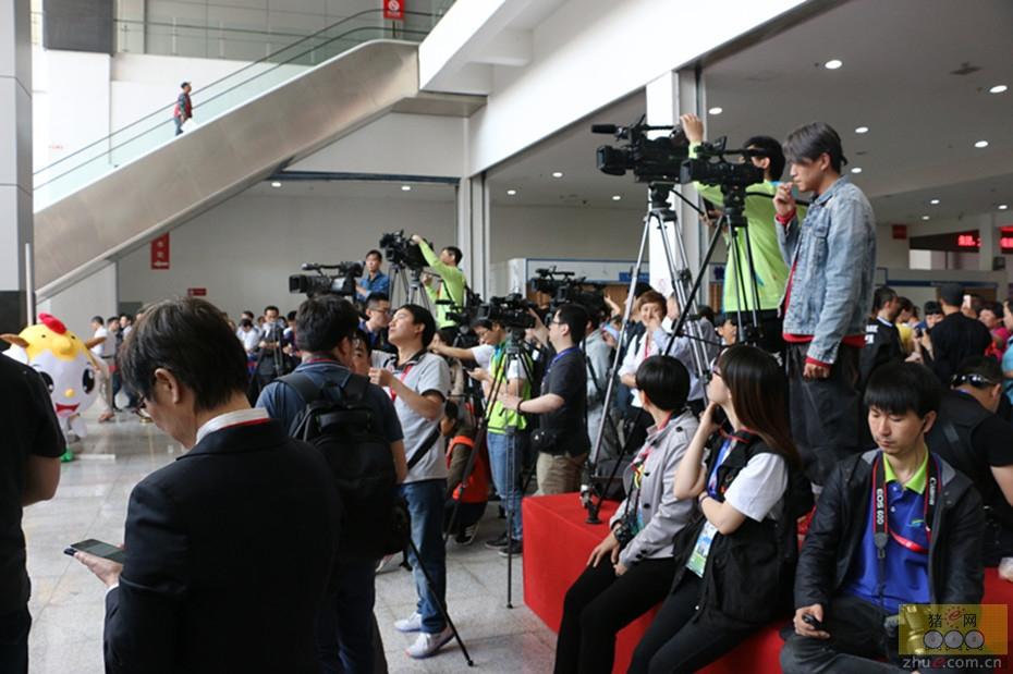 第十四届(2016)畜牧博览会-开幕式之记者团队