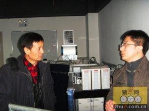美国大豆协会专家访问成都泰丰公司