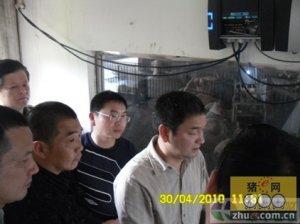 四川省农委领导参观velos数字化猪场