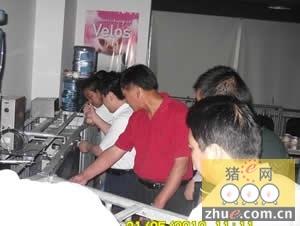 陕西考察团访问成都泰丰新技术有限公司