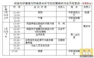 广东信桥科技在京举办的仔猪腹泻专场研讨会