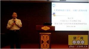 杨汉春教授谈猪病(一):猪蓝耳病