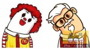 为什么麦当劳和肯德基总是开在一起?你所不知道的商业秘密