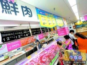 """山西:猪肉价格最近有点""""烫手"""""""