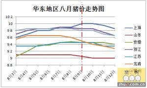 华东猪价近日弱势下调,短期盘整为主