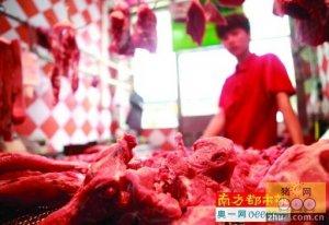 """广东猪肉连涨4个月 东莞""""二师兄""""仅微涨"""