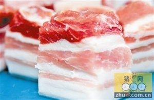 黄金周期间河北石家市级惠民猪肉累计销售132吨
