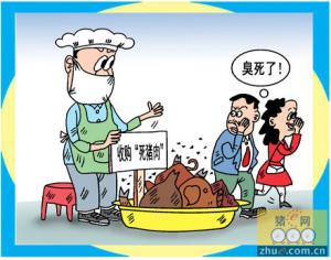 肉联厂收购病死猪 厂长获刑6年罚款1650万