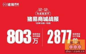 猪易商城【1212年底备货节】战报:交易额突破800万