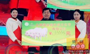 村民自发举办年猪节 祭祀年猪拍出3333元