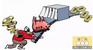 叔侄到河源收死猪贩到广州 双双获刑入狱