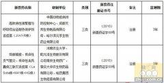 高蓝耐热保护剂活疫苗(JXA1-R株)获批三类新兽药