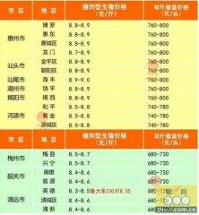 广州日锋 - 广东2016年1月20日行情信息