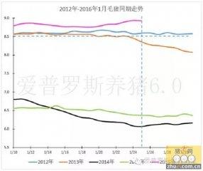 毛猪价格开启降价模式,2013年的春节模式要上演!
