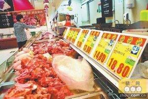 消费市场继续回温 山东猪肉价格连续第三周上涨