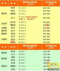 广州日锋- 2016年2月17日行情信息