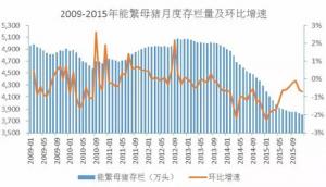 数字背后:2015年我国生猪出栏70825万头