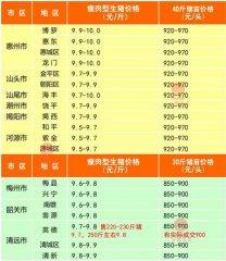广州日锋- 2016年3月11日行情信息