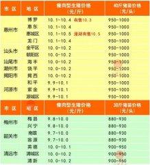 广州日锋- 2016年3月19日行情信息