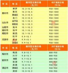 广州日锋- 2016年3月20日行情信息