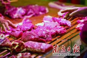广东清远生猪平价出场价突破十元关口创历年新高