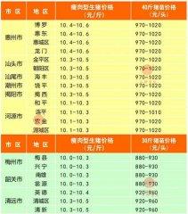 广州日锋- 2016年3月24日行情信息
