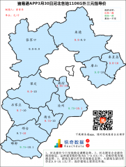 猪易通APP3月30日河北外三元价格地图