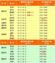 广州日锋- 2016年4月1日行情信息