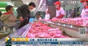猪肉价格单月猛涨30% 肋排卖到每斤35.8元