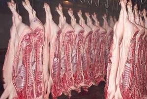 欧洲私人储存库中的猪肉即将被放出