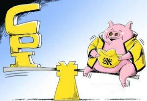 猪价比去年同期高49.4% 机构预测3月CPI上涨2.5%