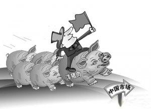 美媒:猪肉大涨价促中国加大进口 肉价料年底前回落