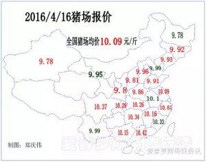 【行情】今日毛猪价格两广、东北继续上行,部分地区终端零售肉价也开始上涨!