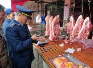 安徽蚌埠专项整治生鲜猪肉