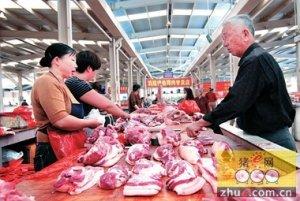 """山东金乡县食药监局:""""三结合""""强化猪肉市场监管"""