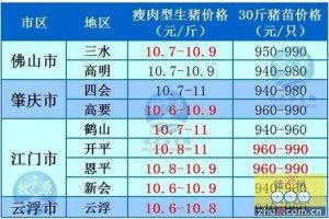 牧之源--广东2016年04月24日猪讯