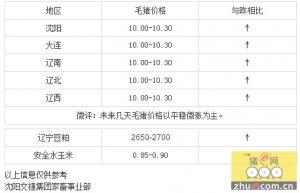 【文捷集团】27日辽宁省猪评:未来几天毛猪价格以平稳微涨为主