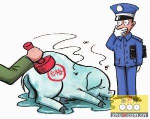 三男子无证从事生猪屠宰 4000余头盖假章猪肉流入市场