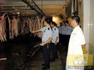 云南龙陵县畜牧兽医局开展生猪屠宰场安全专项排查检查工作