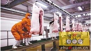 黑龙江省生猪工厂化屠宰县以上进点屠宰率