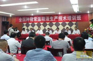 全国种猪常温精液生产技术培训班河南举行
