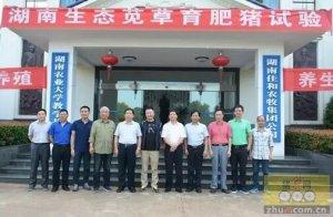 湖南苋草生态养殖试验总结会在佳和农牧生