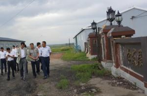 河南牧原到镇赉县实地考察 100万头生猪产