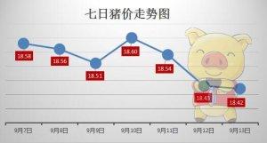 猪周期整体处缓慢下行阶段 节前猪价稳中