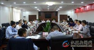 广东南牧机械设备有限公司来仪考察对接项目